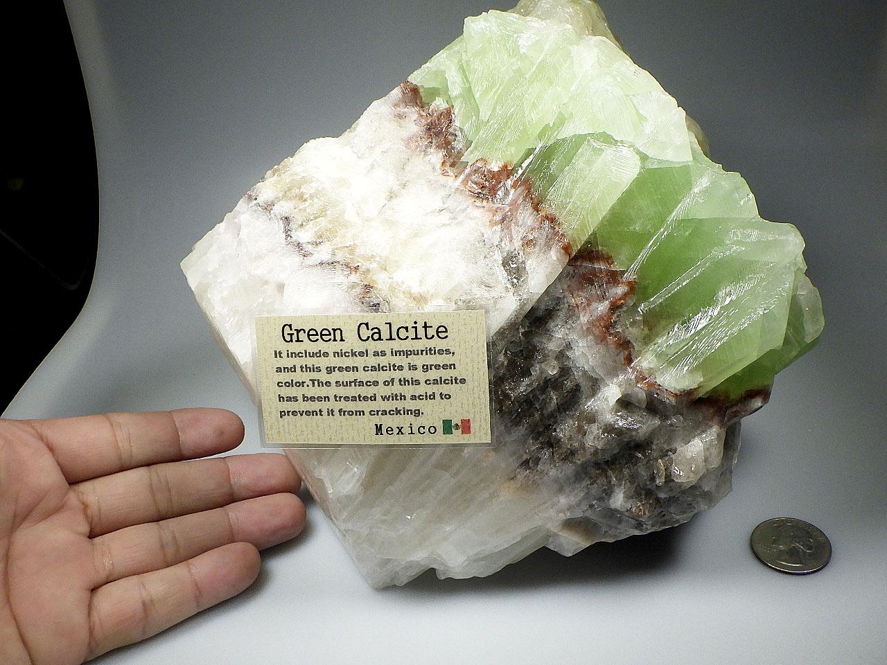 グリーンカルサイト