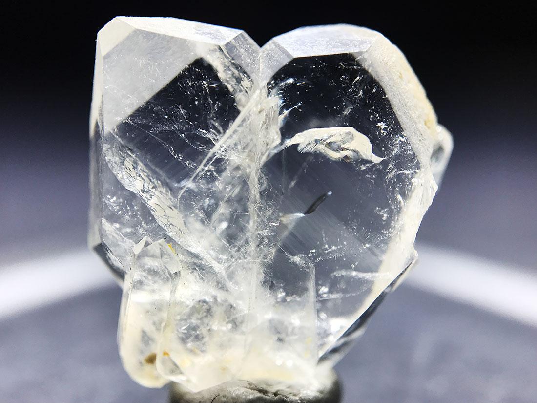 長崎県奈留島水晶岳産 日本式双晶