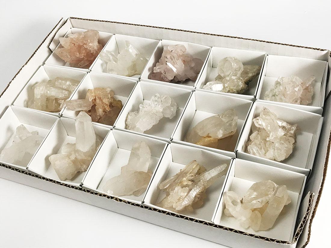 ヒマラヤ水晶クラスターSサイズ15個セット