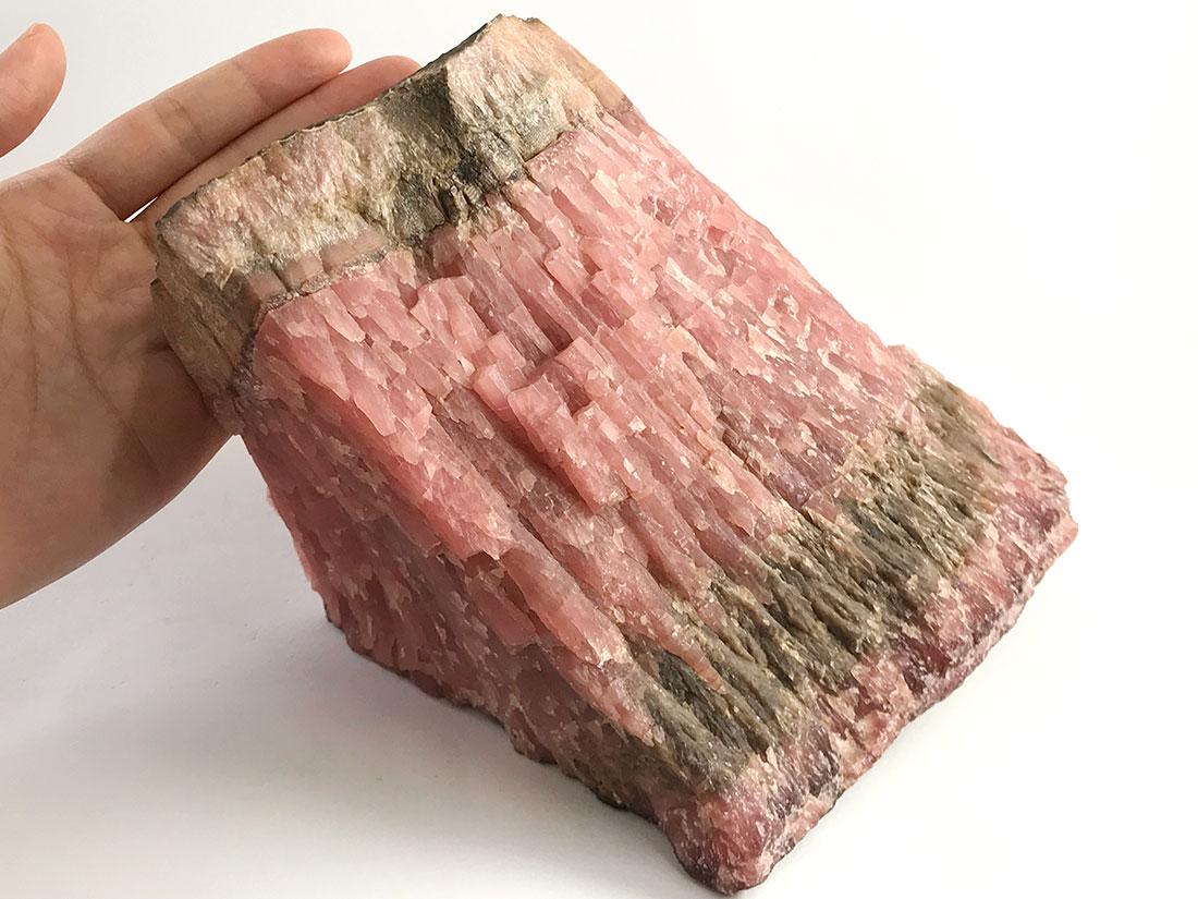 北海道稲倉石鉱山産 菱マンガン鉱
