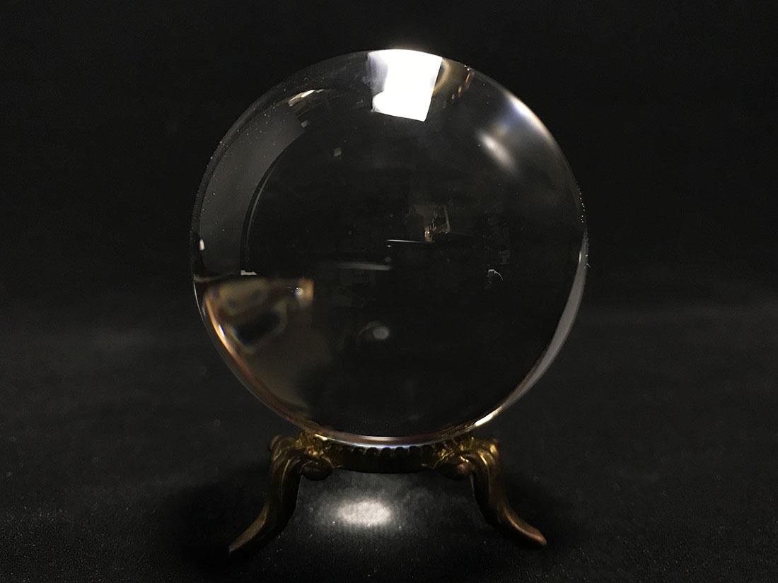 天然無垢水晶玉 48mm