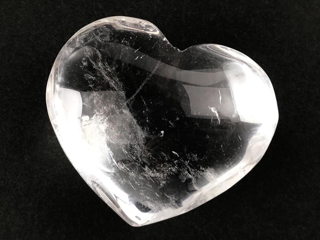 ハート型水晶