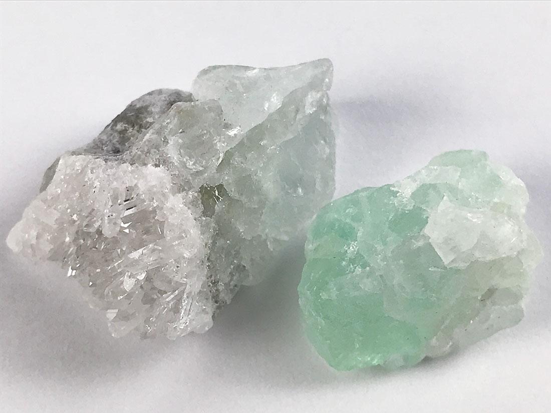 福島県蛍鉱山産 蛍石2個セット
