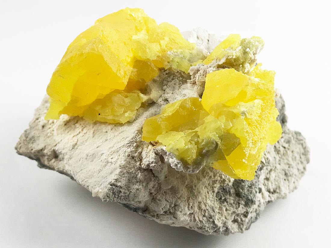 長野県米子鉱山自然硫黄